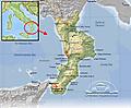 Calabria_Map